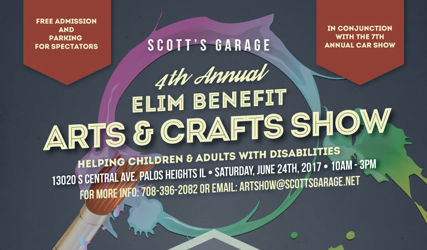 2017 Elim Benefit Arts & Crafts Show