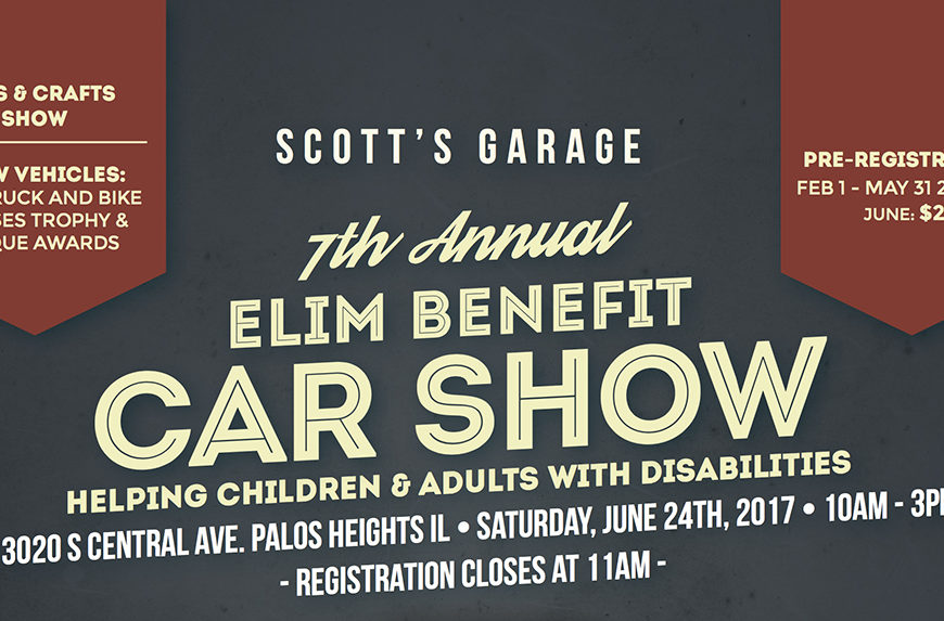 Proud to Announce 7th Annual Elim Benefit Show
