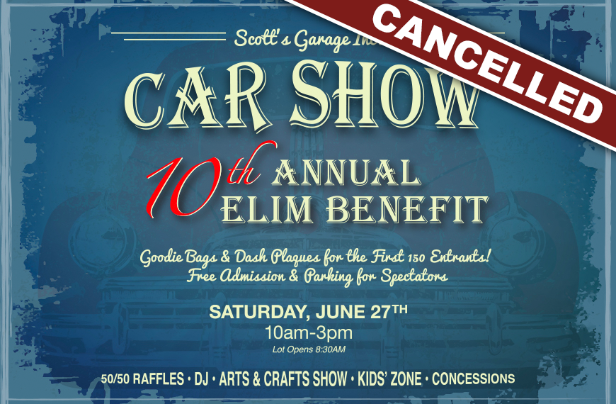 10th Annual Elim Benefit Show (Cancelled)