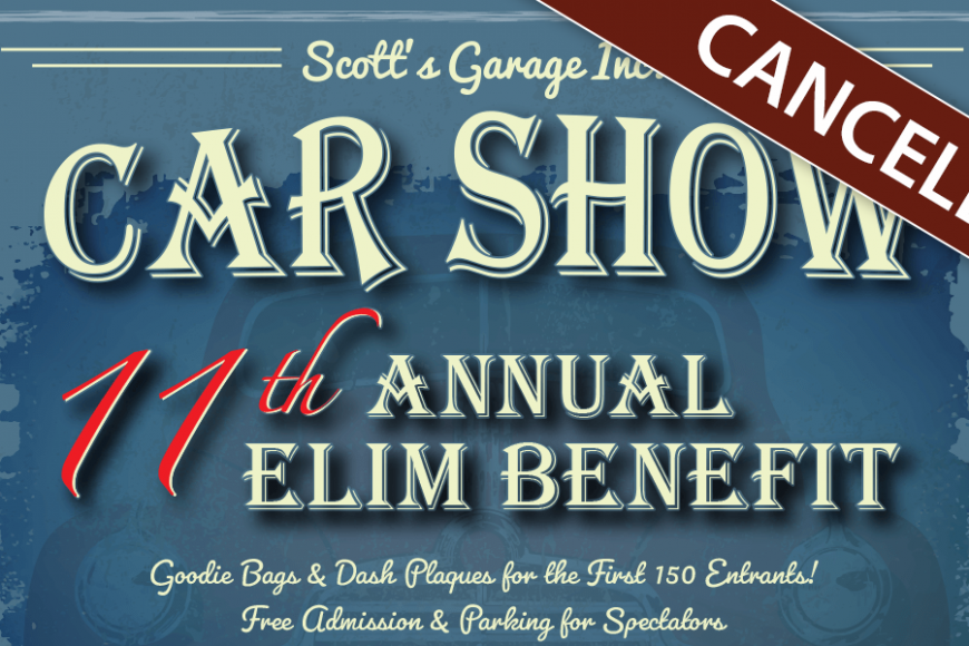 11th Annual Elim Benefit Show – Canceled